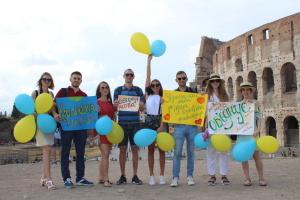 Українська діаспора в Італії приєдналася до акції «Мова об'єднує»