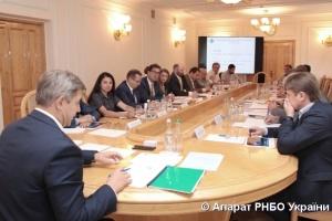 На РНБО обговорили забезпечення газом споживачів та функціонування ГТС