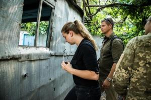 Делегация экспертов НАТО посетила зону ООС
