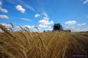 Аграрії зібрали врожай майже з половини засіяних площ