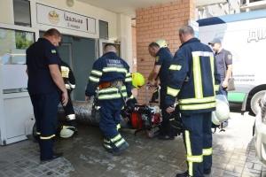 Пожарные ликвидировали возгорание кабелей в больнице Днипра