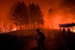 У Португалії вирують пожежі: десятки постраждалих