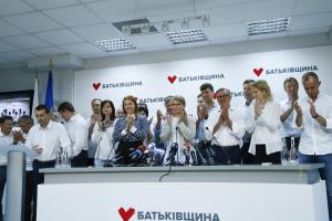 Timoschenko: Batkiwschtschyna ist bereit zur Koalition mit zwei Parteien