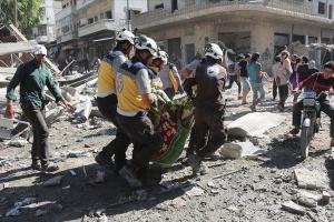 Авіація Асада та РФ за два дні вбила майже тридцять мирних сирійців