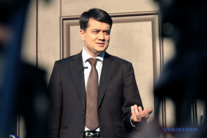 Razumkov: Amnesty won't be granted for militants in Donbas