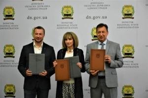 Донецька ОДА та ПРООН підписали меморандум про співпрацю