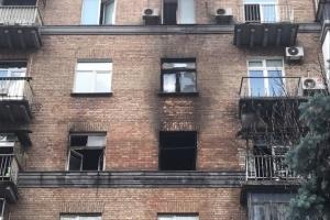 В центре Киева горела многоэтажка: эвакуировали 12 человек, есть погибшая