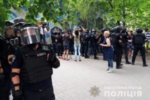 """""""Виборчі"""" протести у Покровську: люди встановили намети та підносять шини"""