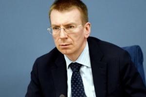 Глава МЗС Латвії: На Зеленському - велика відповідальність, оскільки люди чекають змін