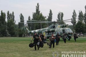 Поліція направила спецпризначенців до ОВК на Донеччині