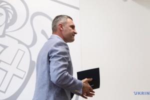 Кличко подал в Раду свой законопроект о столице