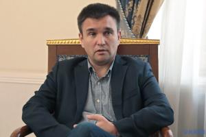 """Klimkin uważa za prawdziwy problem """"pomyłki"""" światowych mediów z """"rosyjskim"""" Krymem"""