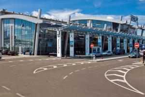Le trafic passagers à l'aéroport de Kyiv a baissé de près de 70%