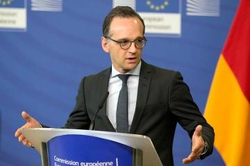 Maas: Alemania sigue de cerca la situación en la frontera entre Ucrania y Rusia