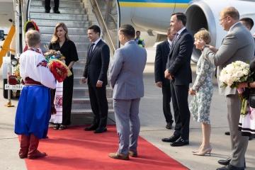 Le président Zelensky a entamé une visite de trois jours au Canada