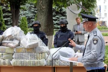 Polizei beschlagnahmt 400 Kilo Kokain