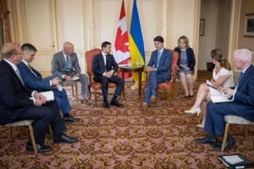 Zelensky says agreement reached with Canada on simplified travel for Ukrainians