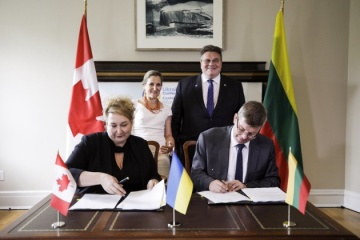 Canada, Lithuania to assist Ukraine in developing infrastructure - Chrystia Freeland