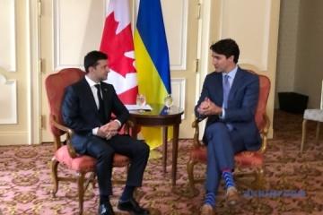 【宇加首脳会談】ウクライナとカナダ、自由貿易圏の拡大を予定