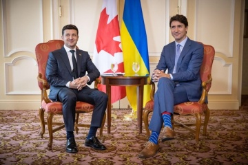 Zelensky, Trudeau discuss possible Canada's visa liberalization for Ukrainians