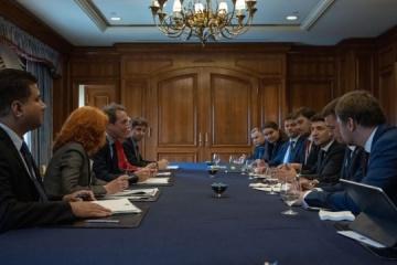 Presidente Zelensky: Ucrania lista para un nuevo programa de cooperación con el FMI