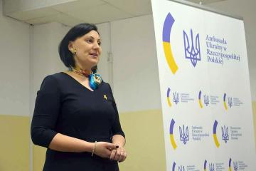 Switłana Krysa, szefowa sekcji konsularnej ambasady Ukrainy w Polsce