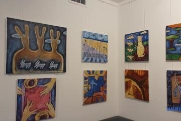 W Warszawie otwarto wystawę współczesnych artystów ukraińskich ZDJĘCIE