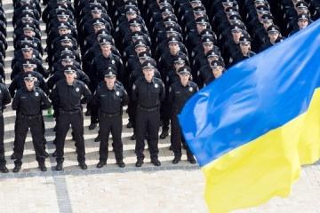 Zelensky felicita a los oficiales de policía por su fiesta profesional