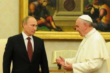 Papst Franziskus und Putin sprechen über die Ukraine