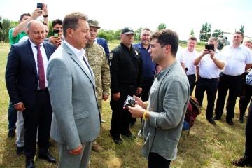 Vitali Komarnyzkyj ist neuer Gouverneur von Oblast Luhansk