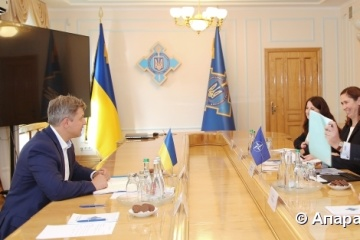 Danyliuk meets with NATO delegation to discuss European integration of Ukraine
