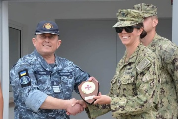 ミコライウ州黒海沿岸に米国建設の宇海軍作戦センターが完成