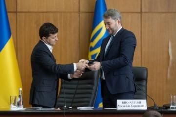 El presidente nombra a un nuevo jefe de la Administración Estatal Regional de Kyiv