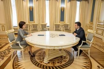 Ukrainian president and Moldovan prime minister discuss economic cooperation between states
