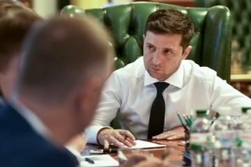 Zelensky meets with Naftogaz representatives