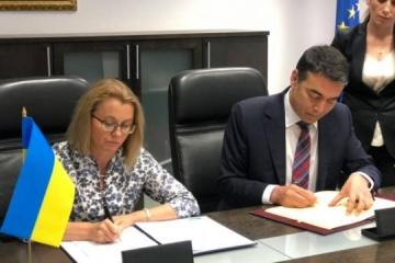 Ukraine, Republic of North Macedonia sign visa waiver agreement