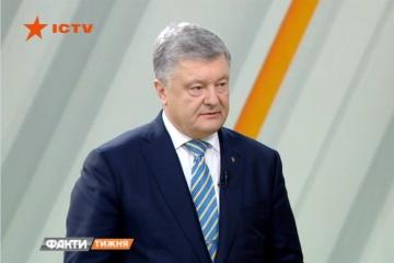 Poroschenko ist zu 90% sicher, dass ukrainische Seeleute vor Wahlen freigelassen werden