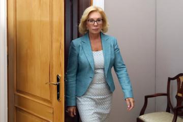 Denissowa nimmt an Gerichtssitzung über ukrainische Matrosen teil - Video