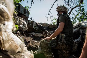 Donbass : les occupants ont tiré à 3 reprises