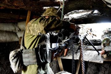 Donbass : 12 attaques lancées par les occupants, pas de pertes