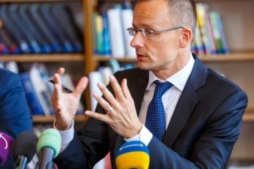 Szijjarto denies meddling in Ukraine's elections