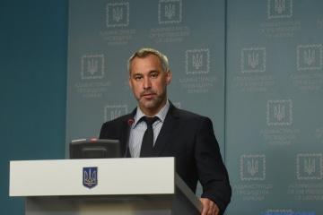 Ruslan Ryabochapka se déclare prêt à prendre le poste du Procureur général de l'Ukraine