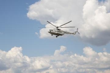 Hubschraubermeisterschaft der Ukraine in Saporischschja