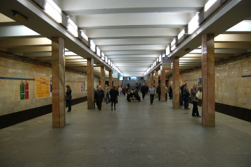 Almost 500 million people rode Kyiv subway in 2019