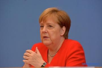 Angela Merkel rend une dernière visite à Vladimir Poutine en pleine crise afghane