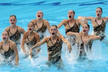 Equipo de Ucrania gana el bronce en el Campeonato Mundial de Natación en Gwangju