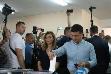 La pareja presidencial acude a las urnas (Fotos)