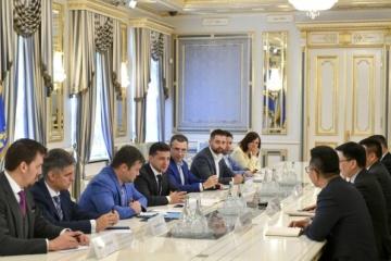Ukraine, China discuss development of gas fields