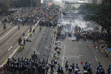 Foreign Ministry warns Ukrainians against participation in Hong Kong protests