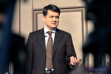 Razumkov: Las elecciones locales se celebrarán en 2020